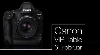 Canon EOS 1D X III VIP Table